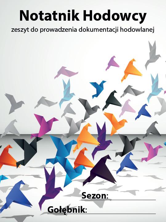 Notatnik Hodowcy - zeszyt do prowadzenia dokumentacji hodowlanej